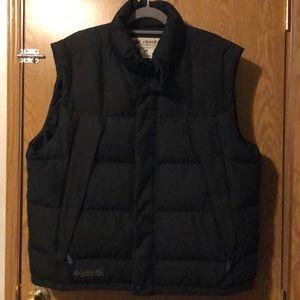 Columbia Sportswear Black Puffer Vest XL